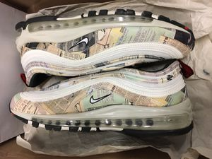 Nike airmax 97 newspaper for Sale in Hialeah, FL