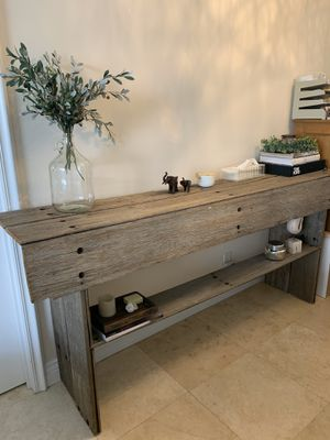 Gorgeous antique vintage wood credenza buffet for Sale in Hallandale Beach, FL