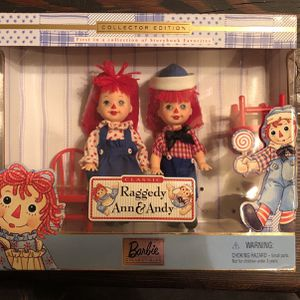 Raggedy Ann And Andy Barbie You New In Box for Sale in Phoenix, AZ