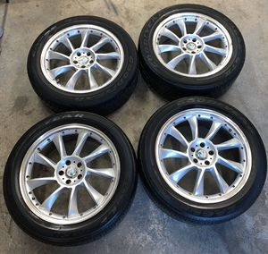 "20"" Affalterbach Rims and Tires (Mercedes AMG/BRABUS) for Sale in Brooklyn, NY"