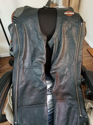Genuine harley riding chaps for Sale in Gorham, ME