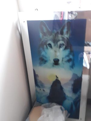 Wolf picture for Sale in Cleveland, OH