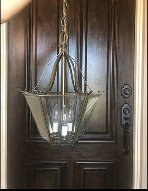 Plantation style metal chandelier for Sale in San Marcos, CA