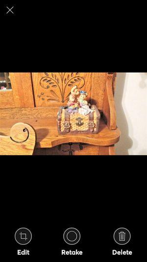 Resin Bear Family Trinket Box, for Sale in Lynchburg, VA