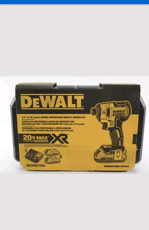 Dewalt impact 1/4. 3speed xr kit for Sale in Manassas, VA