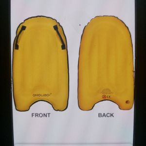 Omouboi Inflatable Surfboard- Yellow for Sale in Henderson, NV