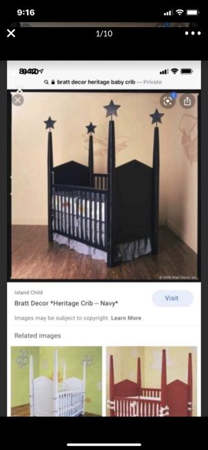 Baby crib & changing table dresser for Sale in Los Angeles, CA