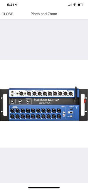 Mixer dijital soundcraft ui24R nueva al 100 for Sale in Dallas, TX