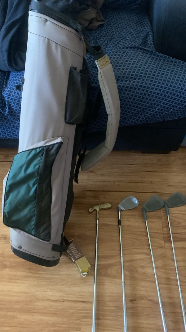 Golf Clubs, Bag and golf balls included