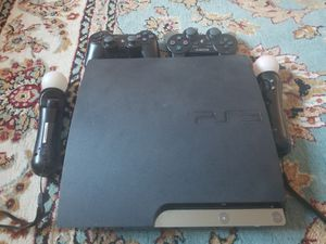 Sony PS3 Slim 240GB with Controller for Sale in Germantown, MD