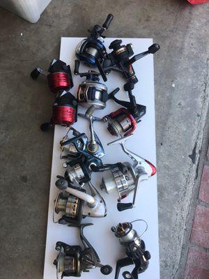 Fishing reels for Sale in Whittier, CA