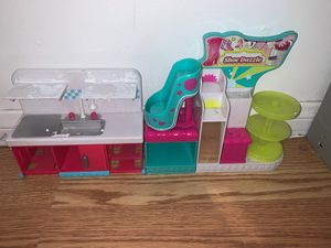 Shopkins shoe dazzle and kitchen for Sale in Los Angeles, CA