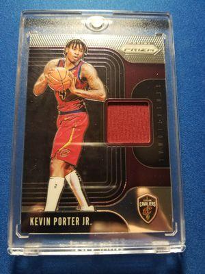 Panini Prizm Sensational Rookie jersey card Kevin Porter Jr for Sale in Sun City, AZ