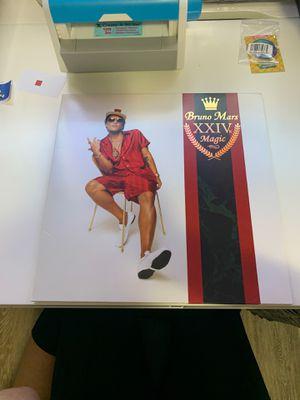 Bruno Mars 24k Magic vinyl album for Sale in Fontana, CA