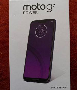 Motorola G7 unlocked for Sale in Bakersfield, CA