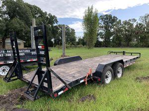 22' 2018 PJ 14k Equipment Trailer for Sale in Ruskin, FL
