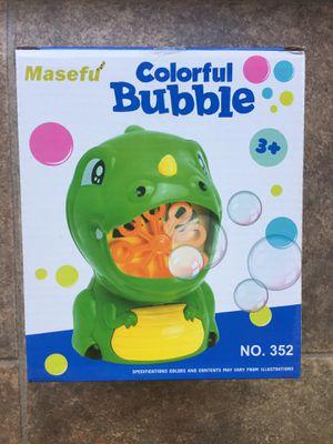 Dinosaur Bubble Machine - Brand New for Sale in Hudson, FL