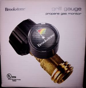 Brownstone Propane Gas Monitor/BBQ Grill Gauge for Sale in Houston, TX