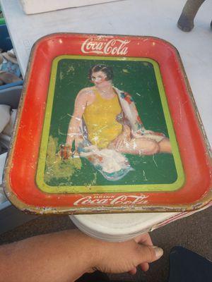 1929 Coca Cola Tray for Sale in Los Angeles, CA
