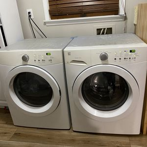 Kenmore Washing Machine and Dryer (sold separately) for Sale in Franklin Township, NJ