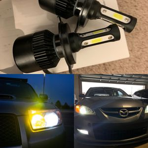 Car led headlights kit leds kits are super bright lights H1 H7 H8 H9 H10 H11 9003 9005 9006 9007 H13 880 9145 9140 5202 for Sale in Fontana, CA