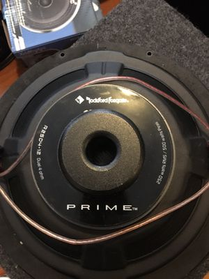 2 12 inches Rockford Fosgate for Sale in Boston, MA