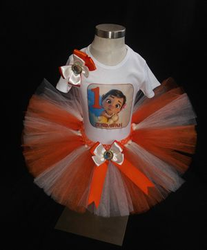 Baby moana tutu outfit for Sale in Los Angeles, CA