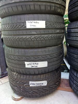 Low Profile Tires 18 s... 55..down for Sale in City of Industry, CA