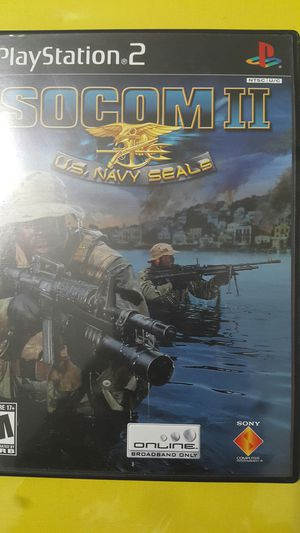SOCOM II FOR PS2 for Sale in Miami Gardens, FL