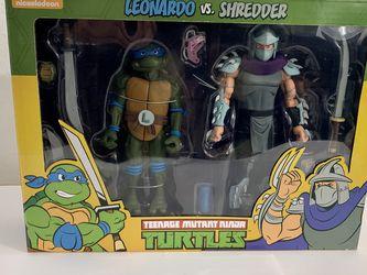 TMNT Leonardo & Shredder Neca for Sale in Los Angeles,  CA