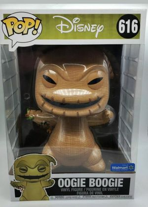"Funko POP! OOGIE BOOGIE 10"" Nightmare Before Christmas Walmart Exclusive for Sale in Tacoma, WA"