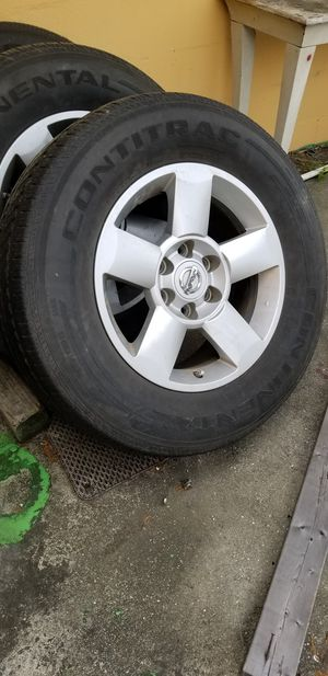 Nissan Armada Rims with tires for Sale in Tampa, FL