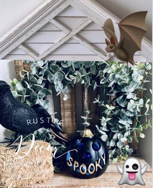 Halloween Spooky Pumpkin W/ LED Light for Sale in Tampa, FL