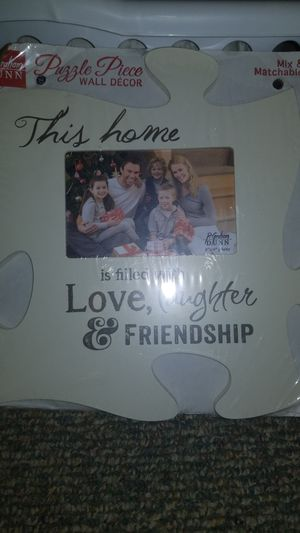 Puzzle picture frame for Sale in Port Orchard, WA