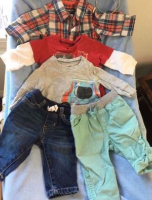 Baby boy 3 Months outfit (5pcs) 👖👕👶🏼 for Sale in Lake Forest, CA
