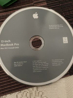 Mac OS X disk for Sale in Los Angeles, CA