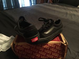 Old skool black vans men/ women for Sale in Greenville, NC