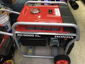 Honda EG5000CL Generator for Sale in Whittier, CA
