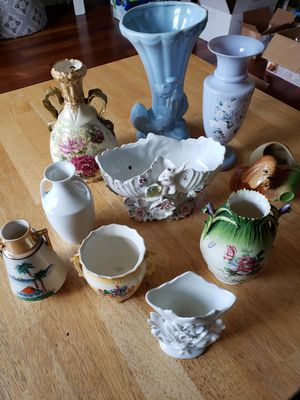 Variety of Colorful Flower Vases for Sale in Gresham, OR
