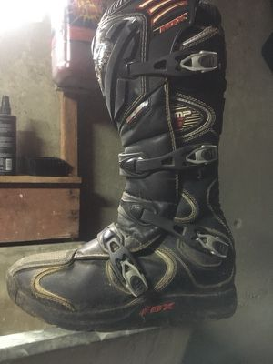 Dirt Bike/ATV Helmet and Boots for Sale in Boston, MA
