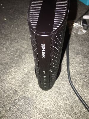 TP Link Cable modem with WiFi comparable with Comcast xfinity for Sale in San Francisco, CA