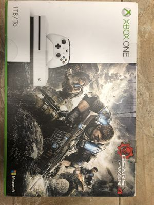 Xbox One S 1TB Gears of War 4 Edition for Sale in Marlboro Township, NJ