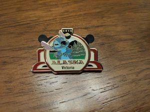 Disney pin LE 1000 Alaska-Victoria 2012 with Stitch for Sale in Glendale, AZ