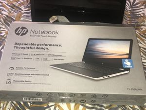 Like new HP touch screen laptop 15.6 7th gen for Sale in Fremont, CA