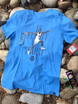 Michael Jordan shirt new with tags size medium for Sale in Wenatchee, WA