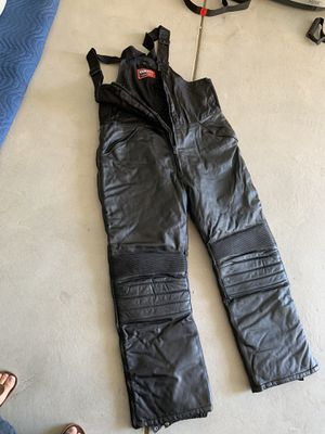 Yamaha Leather Snowmobile Bibs for Sale in Denver, CO