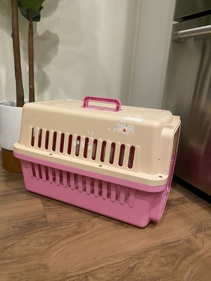Standard Plastic Dog & Cat Kennel/ Travel Carrier for Sale in Boston, MA
