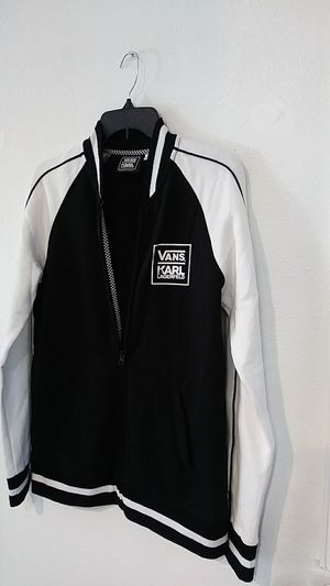Karl Lagerfeld / vans sweatshirt jacket for Sale in Cypress, CA