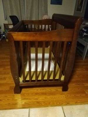 Baby crib used as downstairs crib, so used but little for Sale in West Palm Beach, FL
