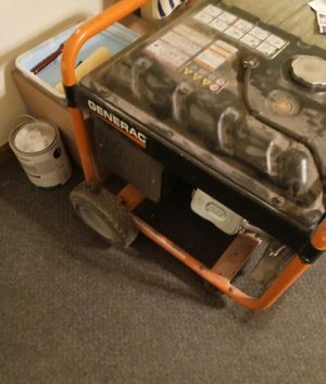 Generac 5500 generator. Works just perfect. for Sale in Swansea, IL
